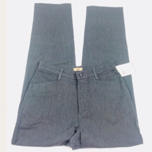 Lee Ladies Women Lee Charcoal Stretch Pants sz 10